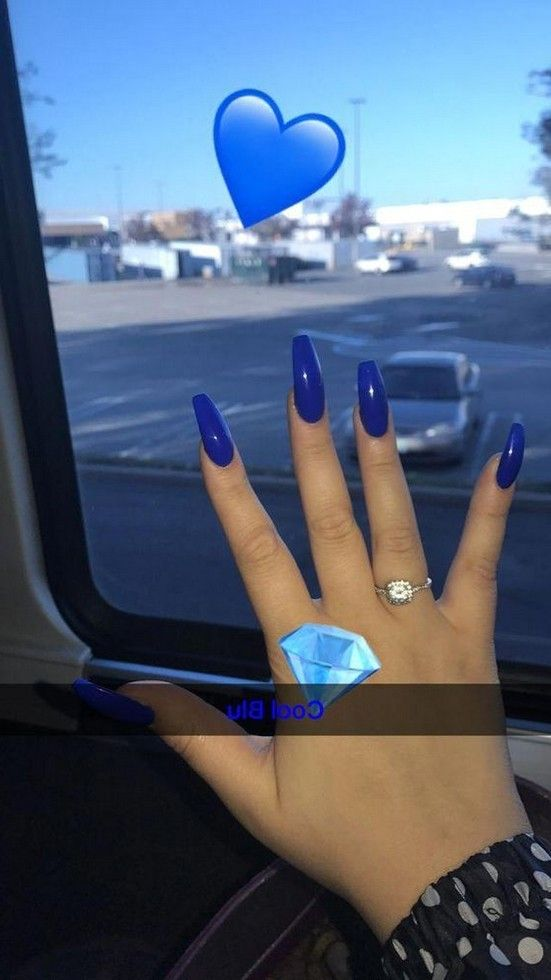 70+ Most Eye-Catching Acrylic Coffin Nails Art for Prom and Wedding ♡