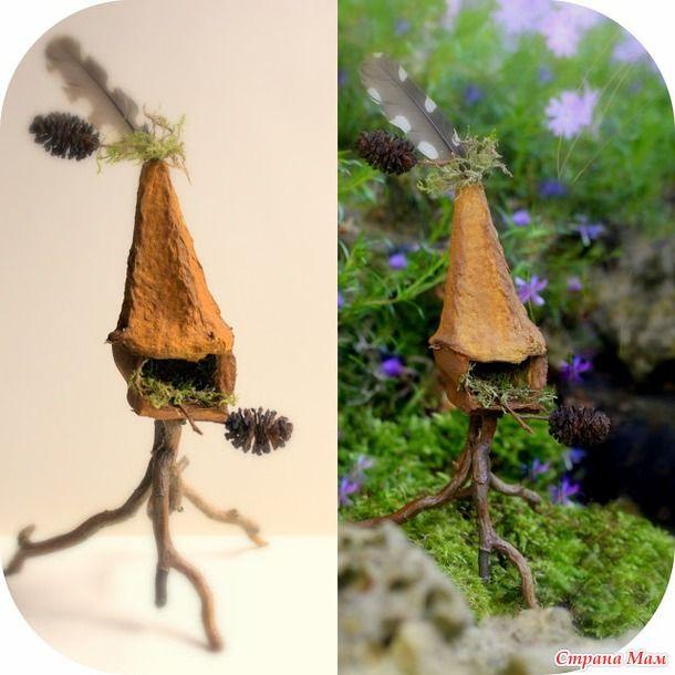 Где живут феи и прочие сказочные существа? А я вам сейчас покажу. Они живут вот в таких маленьких волшебных домиках! Хотите себе такое же чудо?