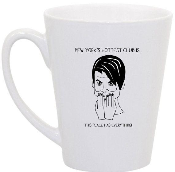 Stefon SNL coffee mug by perksofaurora on Etsy, $16.00  Saturday Night Live, SNL, Stefon, Coffee Mug, Funny Coffee Mug, SNL quotes