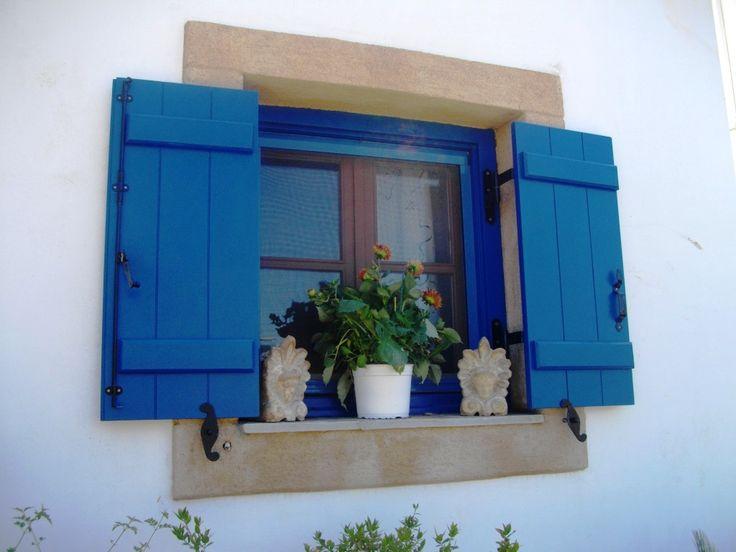 Window in Greece