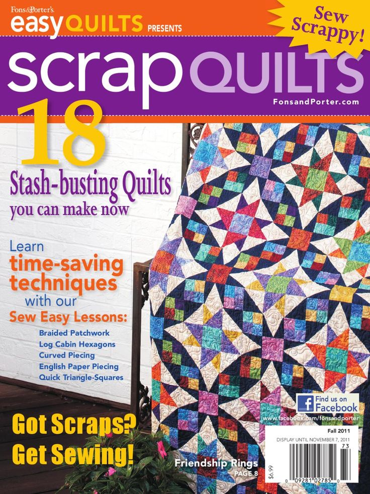 Easy Quilts Presents Scrap Quilts by New Track Media