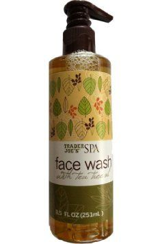 trader joes face wash with tea tree oil