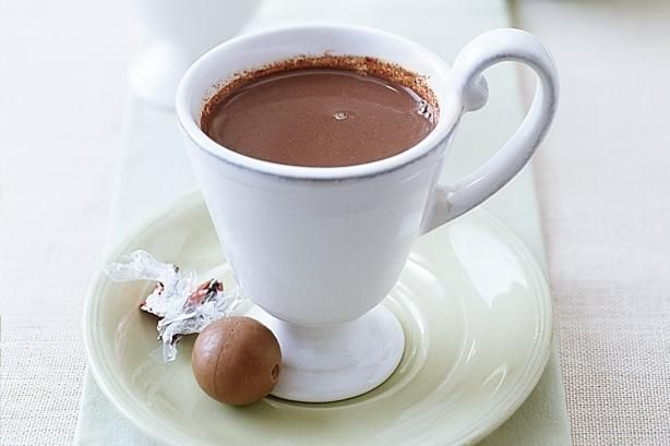 Beverages Drinks Recipe:  Rich Hot Chocolate Recipe