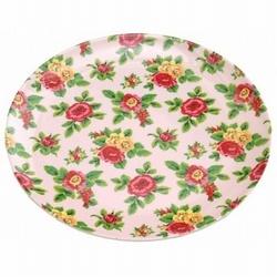 Melamine Bord Bloemen Roze 20cm