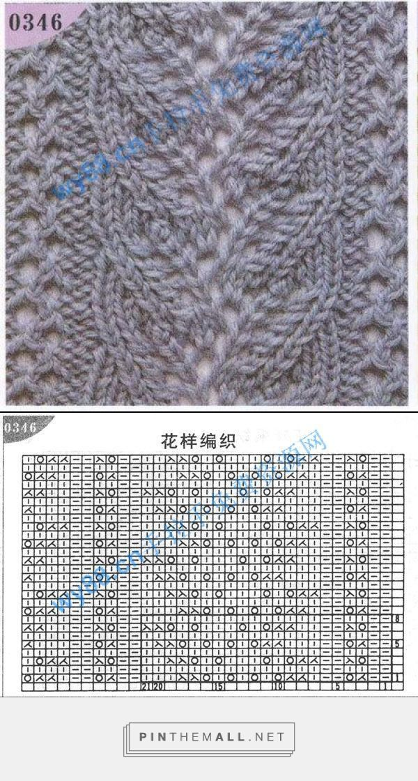 This lace panel looks like the Branched Fern with a double eyelet column on each side; reverse stockinette ground ~~ http://www.liveinternet.ru/users/5127538/post249279395