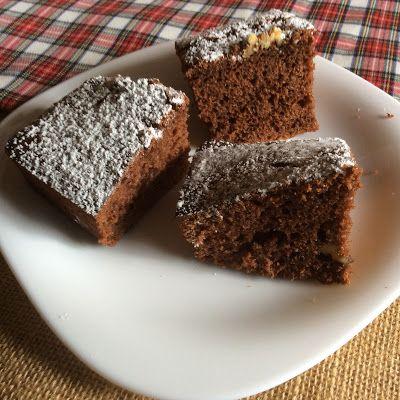 La cuina dels Peris: Bizcocho de chocolate con nueces