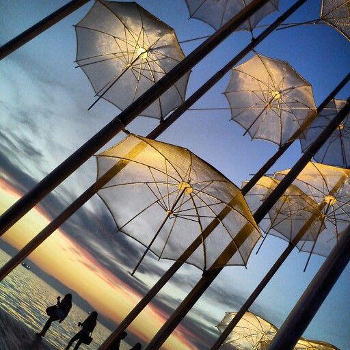 Thessaloniki umbrella rain