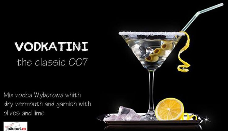 Have you ever dreamed about filling like James Bond?   Secret ingredient of 007 cocktail: see https://www.bauturi.ro/vodka-wyborowa/pret and https://www.bauturi.ro/bitter-vermut
