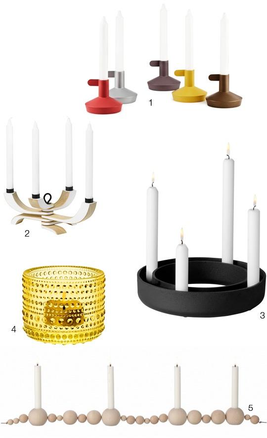 Make Like the Scandinavians & Keep Dark Days Away with Candles