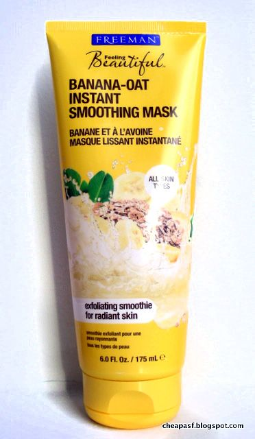 Review of Freeman Banana Oat Instant Smoothing Mask