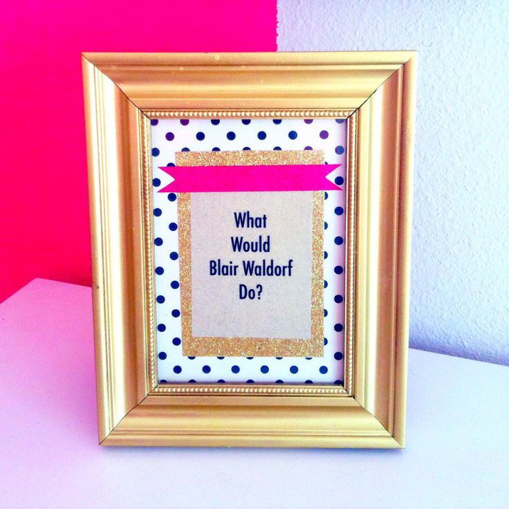 What Would Blair Waldorf Do? @Riley Moore Peterson I just found my new motto.