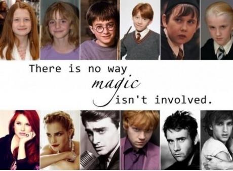 Harry potter magic: Harry Potter Cast, Hogwarts, Black Magic, Wizards, Funny, Random, 10 Years, Hair Color, True Stories