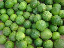 Kaffir Lime. It is a lime native to Indochinese and Malesian ecoregions in India, Laos, Indonesia, Malaysia and Thailand, and adjacent countries. It is used in Southeast Asian cuisine.