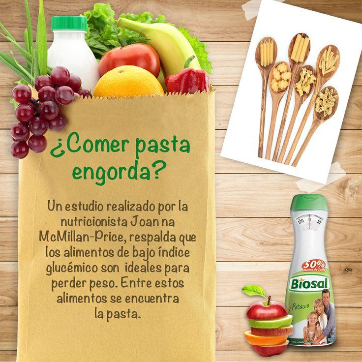 ¿Comer pasta engorda?  http://www.hoycambio.com/articulos/3/582/%26iquest_la_pasta_nos_hace_engordar%3F.html