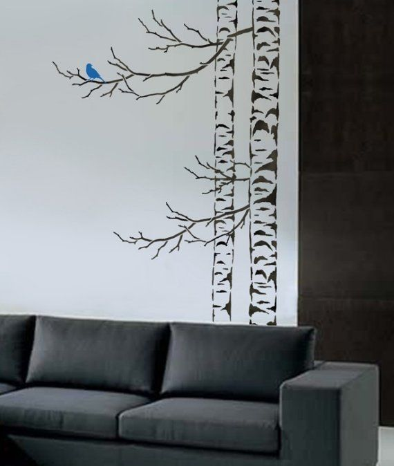 top 25 best tree stencil ideas on pinterest tree outline tree stencil for wall and tree. Black Bedroom Furniture Sets. Home Design Ideas
