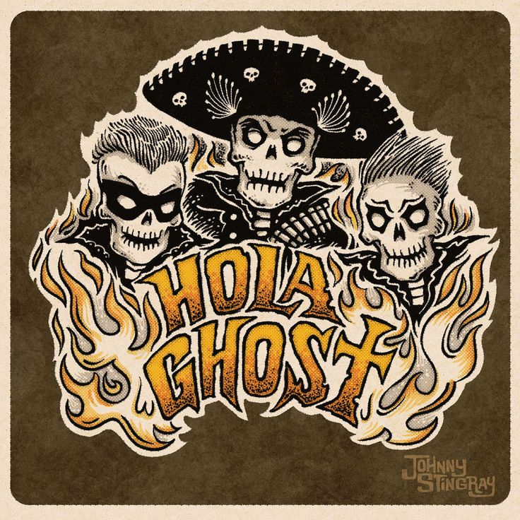 Hola Ghost by Johnny Stingray
