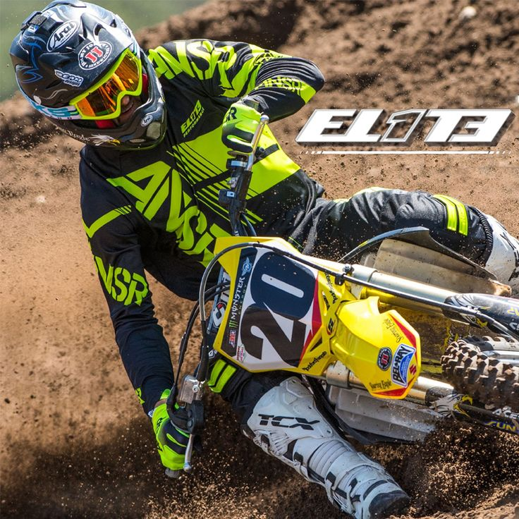The Elite line was designed to have the perfect blend of fit and function for today's rider at a mid-level price point. An all new fit, performance materials and Hi-End features makes this a must have for any rider.  Check the entire #AnswerRacing #MX #motorcyclegear collection at #haustrom #onlinestore and pick what color suits you!  #OffRoad #EliteGear #Elite #MensJerseys #MensGloves #MensPants #Motocross #roadride #MotoX #DirtBike #Motorcycle #Protection #Gear #Apparel #Supercross #ANSR…