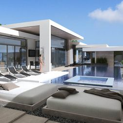Nice! Love to have a pool^__^#swimming pool#dream home