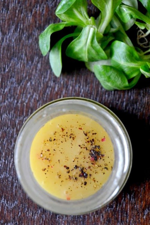 Foodblog nebo-li blog o vaření a HOŘČIČNÝ DRESING S MEDEM NA SALÁT