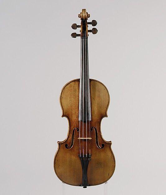 The Antonius. Antonio Stradivari (Italian, Cremona 1644–1737 Cremona) Date: 1711 Geography: Cremona, Italy Medium: Maple, spruce, ebony.
