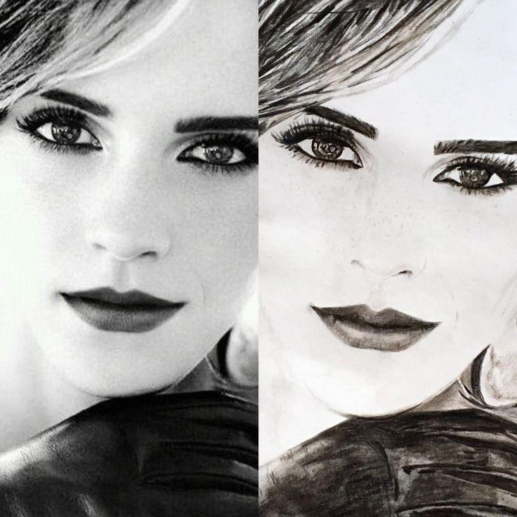 Emma Watson. Photo vs Picture
