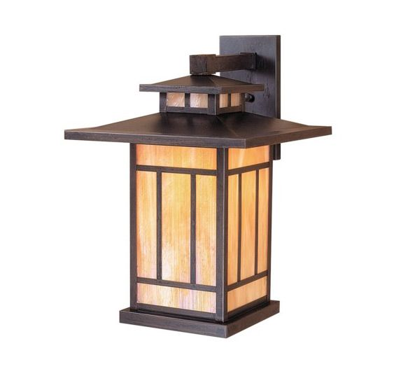 Kennebec 17 H Arts And Crafts Outdoor Wall Light Outdoor Wall Lighting Arroyo Craftsman Outdoor Walls
