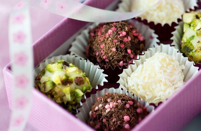 » Chokladpraliner – Recept – Allt om Mat