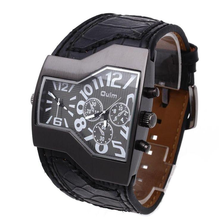 Modisch OULM Russisch Armee Militär Dual Uhrwerk Herrenuhr Sportuhr Armbanduhr: Amazon.de: Uhren