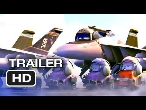 CAN'T WAIT FOR THIS!!  Planes Official Trailer #1 (2013) - Dane Cook Disney Animated Movie HD