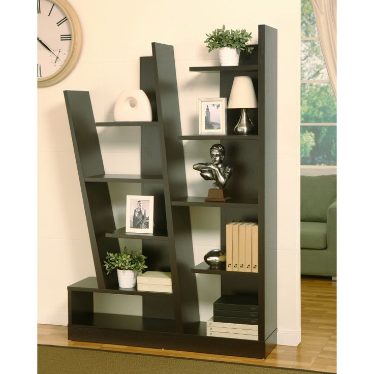 This Multipurpose Brown Display Bookcase Will Instantly Create A Modern Atmosphere In Your Living Room
