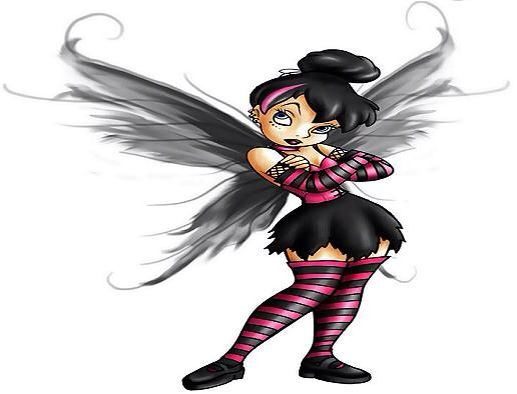 Evil fairy I like as a tattoo | Tattoos | Pinterest | Punk ...