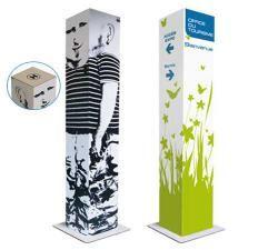 Totem ecologique-Hauteur 170 cm