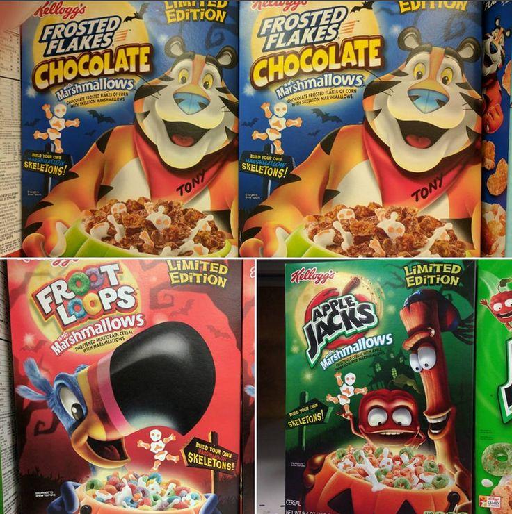 Kellogg's Halloween Cereals