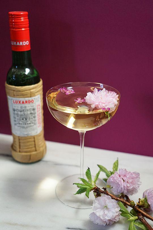 Blossom Martini:  2 oz Vodka 1 oz Blanc Vermouth 1/4 oz Luxardo Maraschino 6 Dashes Miracle Mile Celery Bitters