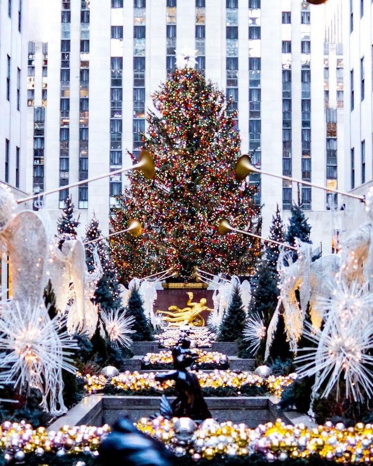 Rockefeller Center Christmas Tree 2018 (Part I) imagens)