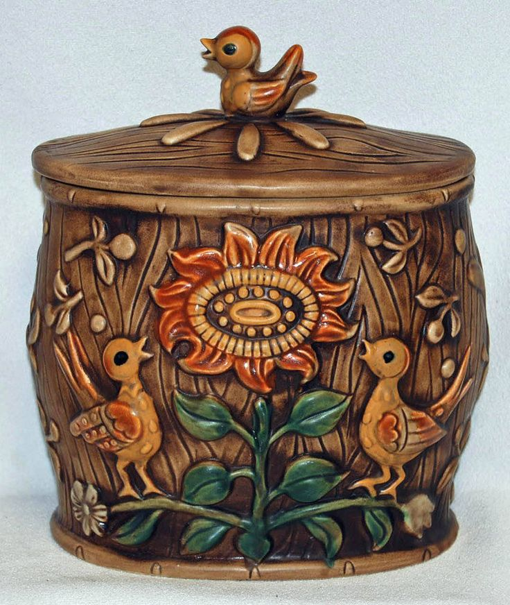 Rustic Cookie Jar Cool 631 Best Cookie Jars Images On Pinterest  Vintage Cookies Antique Decorating Design