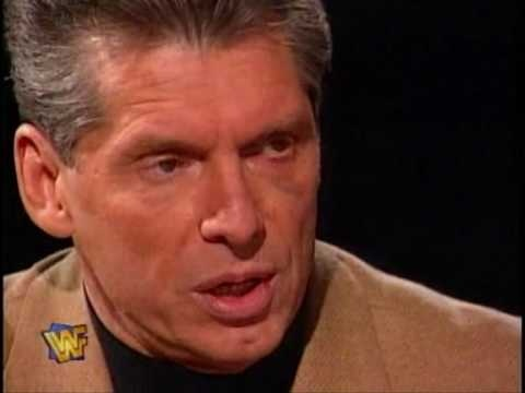 Vince McMahon talking about the Montreal Screwjob.