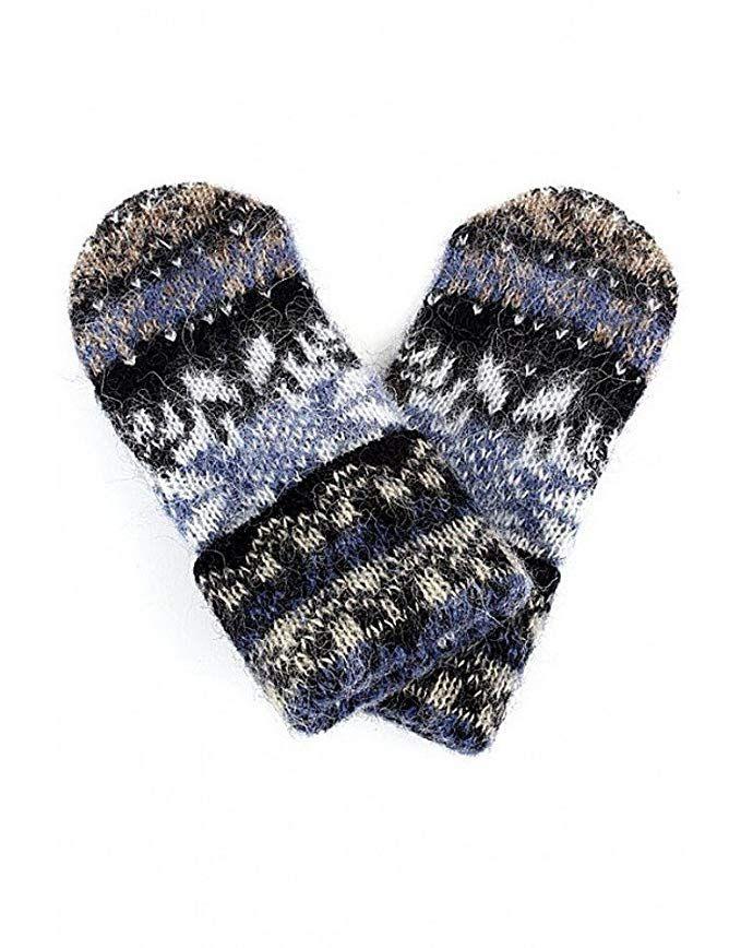 c0c4d4c12 Women Knit Mittens 100% Icelandic Wool Fleece Lined by Freyja Canada Review
