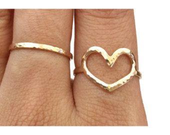 Teardrop anello anello di goccia dell'acqua di PunaheleLove