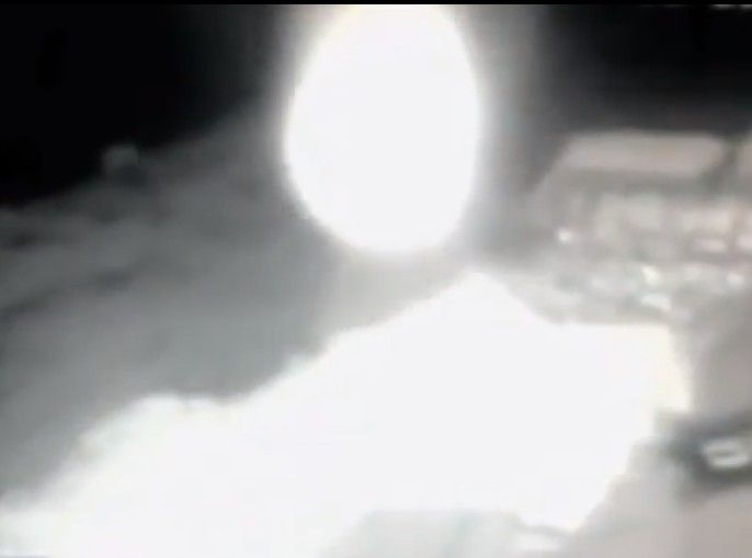 """Glowing Energy Entity Caught On Security Cam In Russia, Investigation Underway """"A glowing orb is seen on security cam moving upward and away. This video made it onto the Russian TV news. These orbs are considered to be entities…living beings of energy and usually go without a physical form, but can manifest into any form for a short period of time,"""" reports Scott Waring, author of UFO Sightings Daily."""