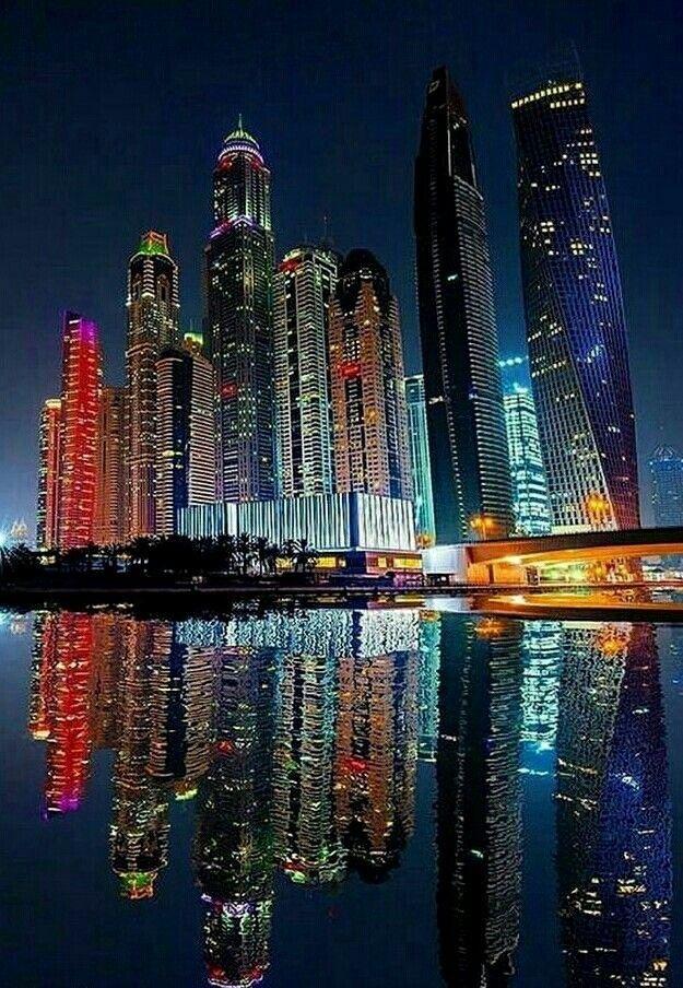 Cidades Com Imagens Cidade De Dubai Fotografia De Paisagem