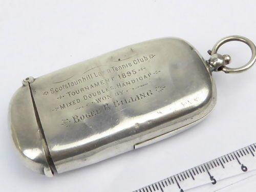 Antique-Victorian-sterling-silver-Dual-sovereign-amp-Vesta-case