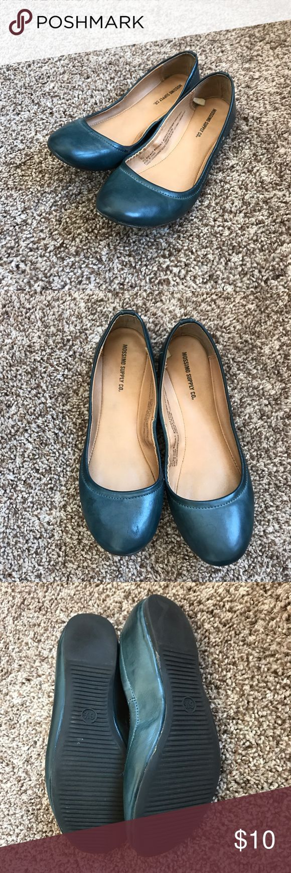 Mossimo • Teal Flats Worn once! No paypal, no trades, I do sell on other sites ask if you want my info for those. Mossimo Supply Co Shoes Flats & Loafers