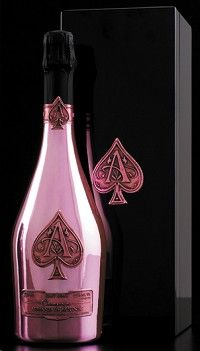 Armand de Brignac Ace Of Spades Champagne Rose...love this.