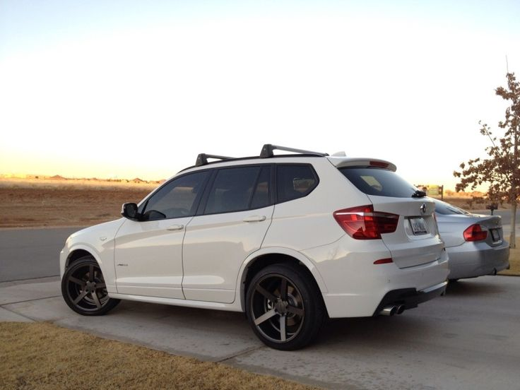 "A new BMW X3 on Vossen CV3 20"" Wheels http://www.vossenwheels.com/wheels/VVSCV3.aspx"