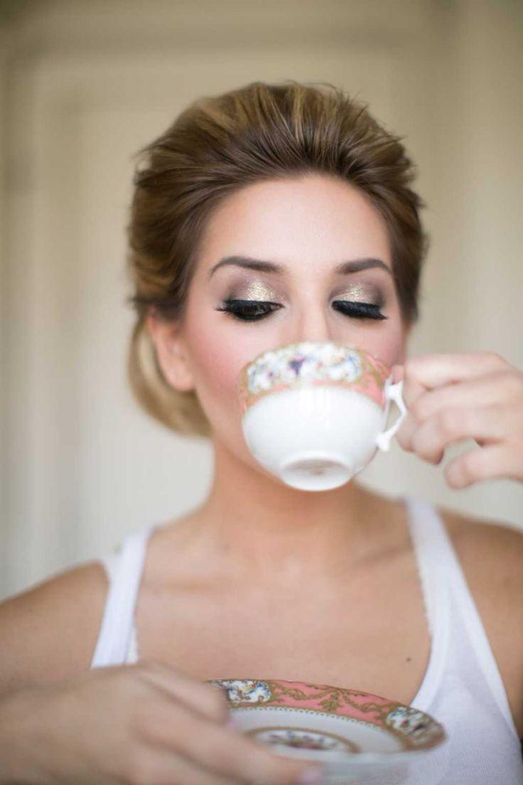 Bridal Eye Makeup Using Gold Eyeshadows One1lady