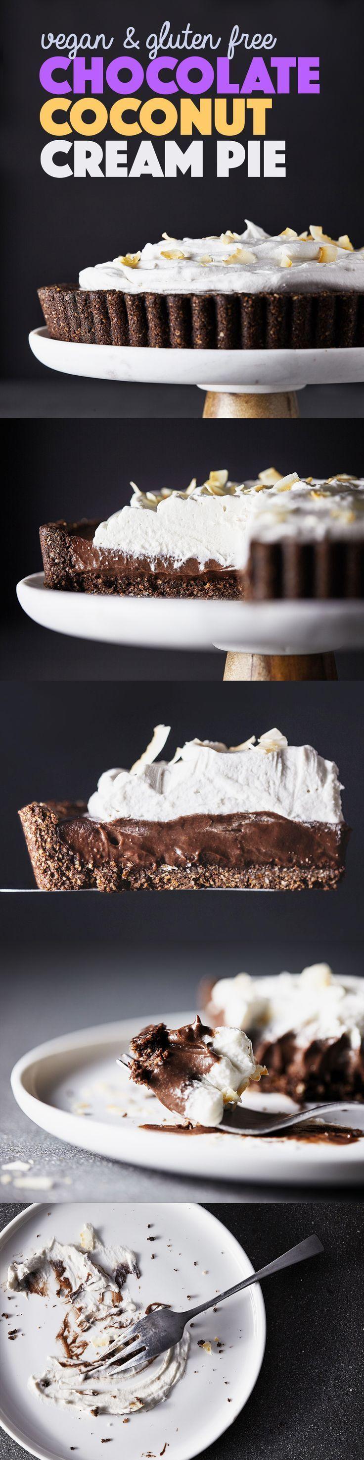 Dec 23 Vegan Chocolate Coconut Cream Pie