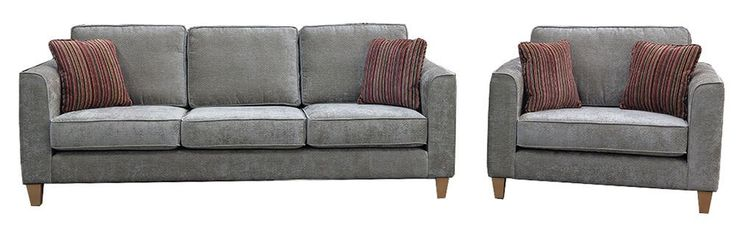 Nolan Str and Love Seat Ava {Silver Collection}