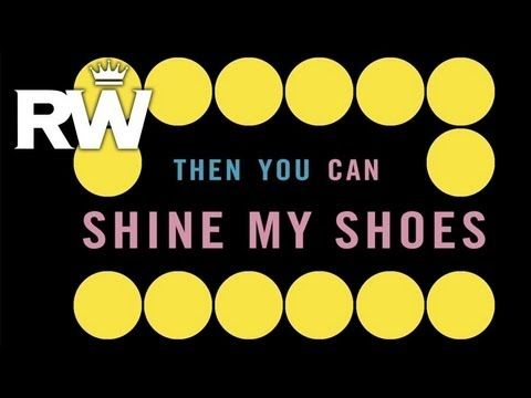 Robbie Williams | 'Shine My Shoes' | Official Lyric Video