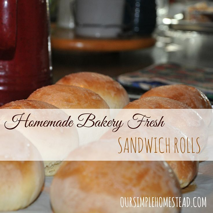 These hearty homemade sandwich rolls are becoming a staple for my family! We are loving them for any kind of sandwich. #freshbread